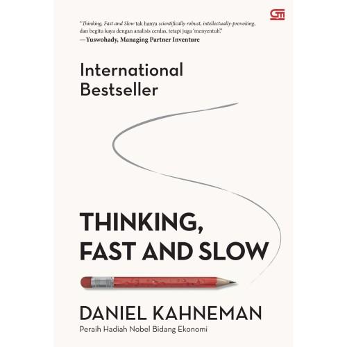 Foto Produk Thinking, Fast and Slow (Cover Baru) - Daniel Kahneman - Gramedia dari Republik Fiksi