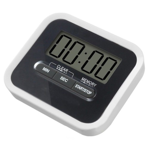 Foto Produk AHG Premium Timer Mini Digital Dapur Countdown Timer Black dari WATERGROUND COFFEE