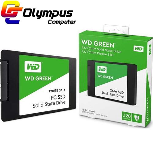 Foto Produk Baru SSD WD Green 120GB Western Digital 120 GB 2.5 Inch SATA dari OLYMPUS COMPUTER