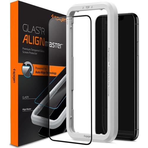 Foto Produk iPhone 11 Pro Max / 11 Pro / 11 Tempered Spigen AlignMaster Full Cover - iPhone 11 Pro dari Spigen Indonesia