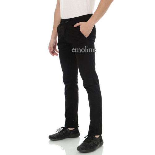 Foto Produk Celana Chino Panjang Pria / Chino Pants / Chino Pria - Hitam, 34 dari EMOLINE
