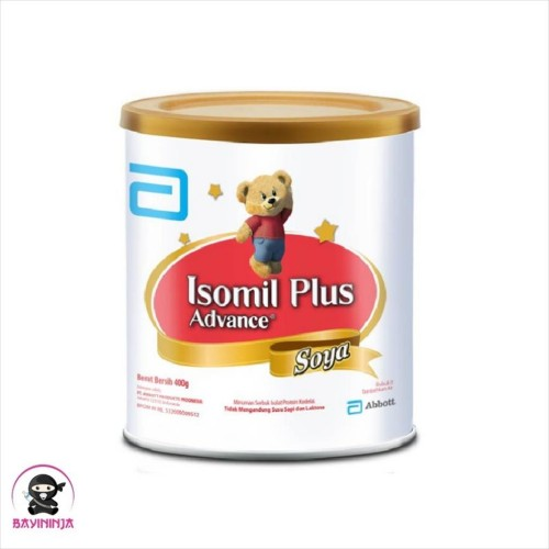Foto Produk ISOMIL Plus Advance Soya Susu Tin 400g 400 g dari BAYININJA