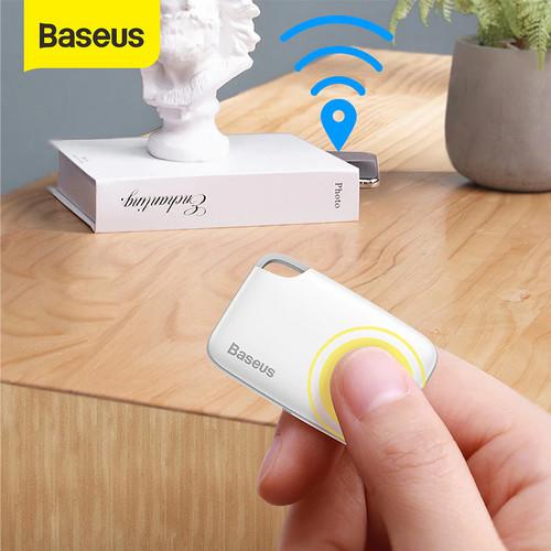 Foto Produk BASEUS T2 KEY FINDER WIRELESS GPS TRACKER ANTI MALING TRACKING DEVICE - Putih dari Baseus Official Store