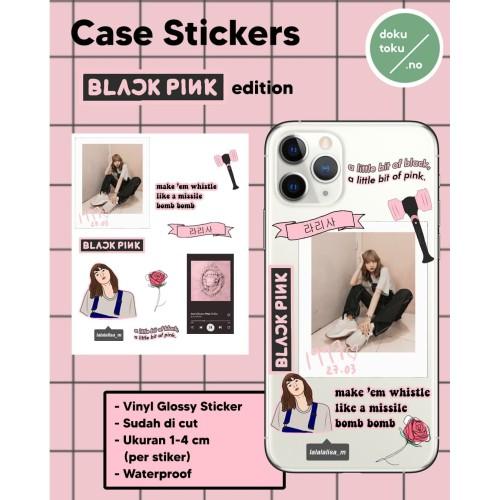 Jual Case Sticker Kpop Blackpink Lisa Jisoo Rose Jennie Waterproof Kota Tangerang Dokutoku No Tokopedia