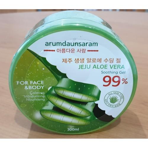 Foto Produk Jeju Aloe Vera Gel 99% Arumdaunsaram Asli korea dari INDIS MEDIKAL & JSGLOBAL