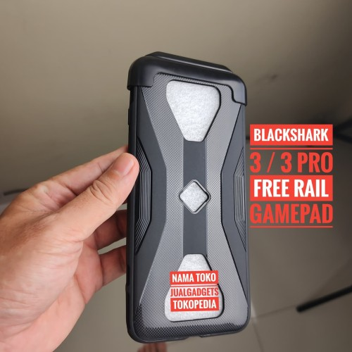 Foto Produk BlackShark 3 Case Free Rel Gamepad Black shark 3 Pro Sarung HP Dan Rel dari JUALGADGETS