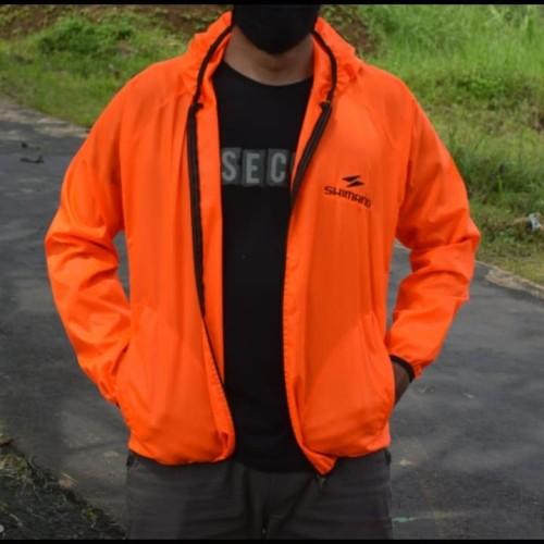 Foto Produk jaket parasut shimano (orange) dari thedas