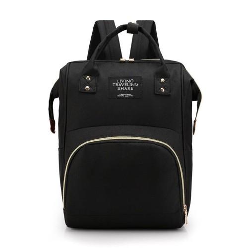 Foto Produk READY STOK JT1251-black Tas Ransel Cantik Kekinian Import dari AlMirah Olshop