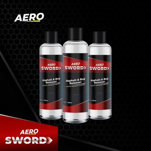 Foto Produk Aero Sword Penghilang Aspal, Serangga, Stiker dan Getah Pohon dari Aero Indonesia Official