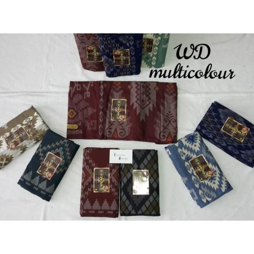 Foto Produk Sarung Wadimor Kembang Multicolour [GROSIR/ECER MURAH] dari INDO GOODS