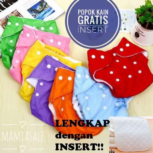 Foto Produk Popok Kain CLODI BERKANCING reusable diaper popok bayi murah dari Mamia Sale