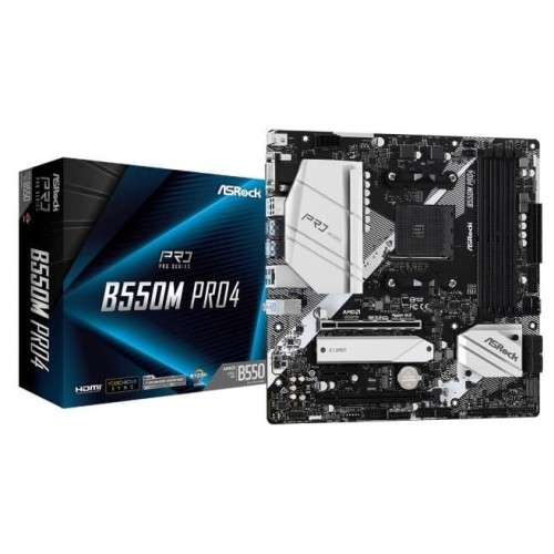 Foto Produk Motherboard AMD AM4 ASRock B550M Pro4 dari BaliComp