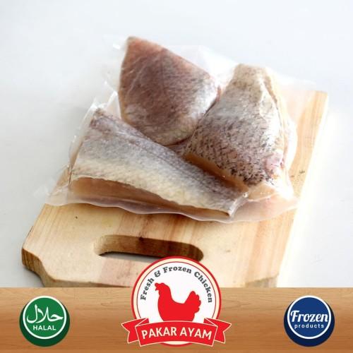 Foto Produk Ikan Kakap Fillet Steak (Fillet Sushi) Kemasan 500gr Premium Quality dari Pakar Ayam
