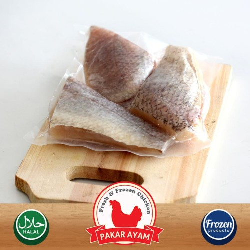 Foto Produk Ikan Kakap Fillet Steak (Fillet Sushi) Kemasan 1 Kg Premium Quality dari Pakar Ayam