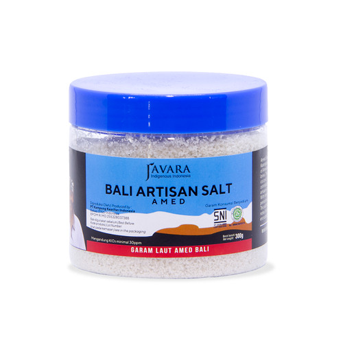 Foto Produk Javara Amed Sea Salt 300 g dari Javara Indonesia