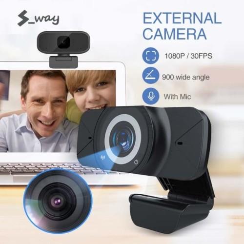 Foto Produk W7 Full Hd Webcam 1080P With Microphone Web cam 1080P FULL HD JERNIH dari acc pusat jakarta
