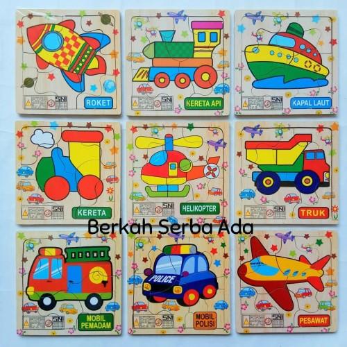Foto Produk Mini Puzzle Binatang Transportasi Buah Puzzle SNI Murah dari Berkah serba ada