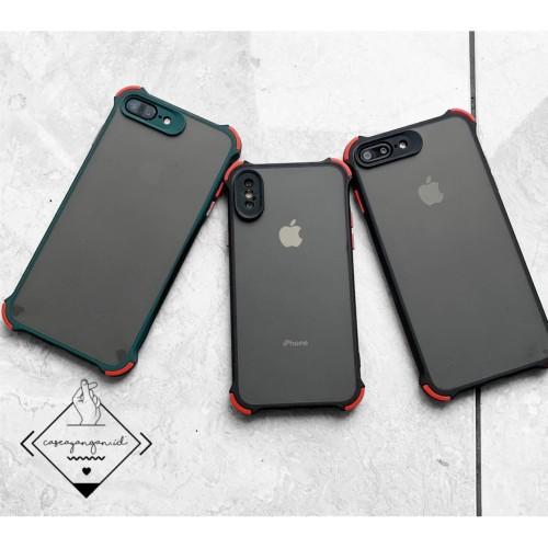 Foto Produk Hybrid Camera protector case iphone 6 6S 7 8 plus X XR XS MAX 11 PRO - BLACK, X XS dari Caseayangan ID
