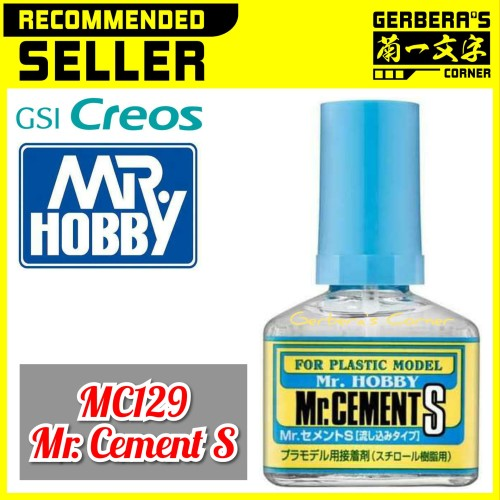 Foto Produk Mr Cement S MC129 Mr Hobby Lem Gundam Model Kit Tools dari Gerbera's Corner