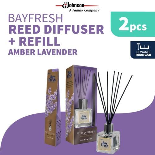 Foto Produk Bayfresh Reed Diffuser Pengharum Ruangan + Refill - Amber Lavender dari SC Johnson & Son ID