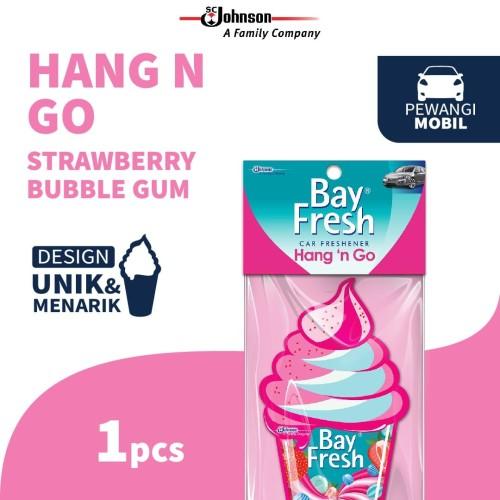 Foto Produk Bayfresh Hang n' Go Pengharum Mobil - Strawberry Bubblegum dari SC Johnson & Son ID