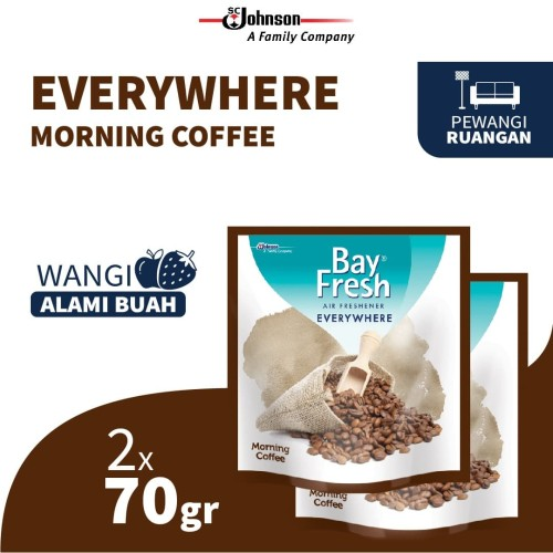 Foto Produk Bayfresh Everywhere Morning Coffee 70gr x 2pcs dari SC Johnson & Son ID