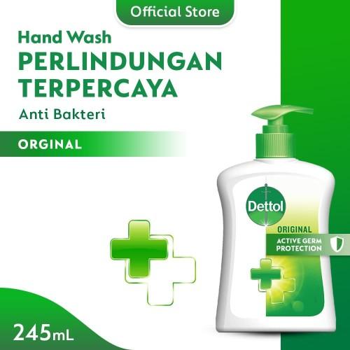Foto Produk Dettol Sabun Cuci Tangan Original 245ml Pump dari Dettol Official Store