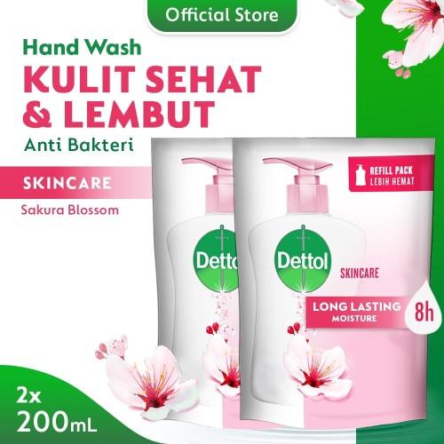 Foto Produk Dettol Sabun Cuci Tangan Skincare - Pouch 200mL - Hand Wash Skincare dari Dettol Official Store