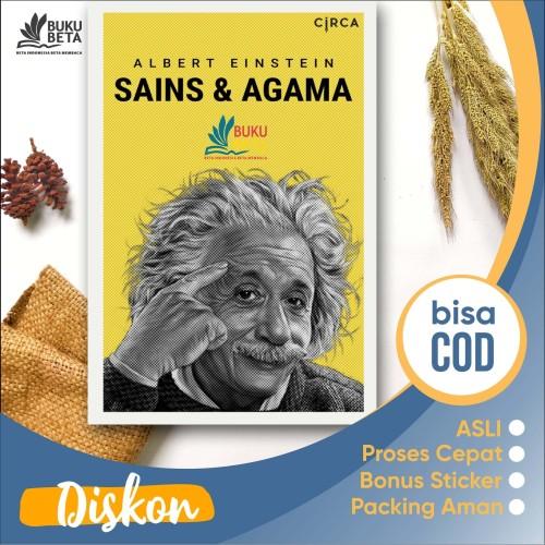 Foto Produk Sains & Agama - Albert Einstein dari Buku Beta