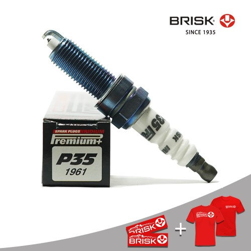 Foto Produk Busi Mobil BRISK Premium Plus Iridium P35 dari PT Brisk Busi Indonesia
