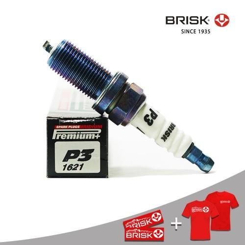 Foto Produk Busi Mobil BRISK Premium Plus Iridium P3 dari PT Brisk Busi Indonesia