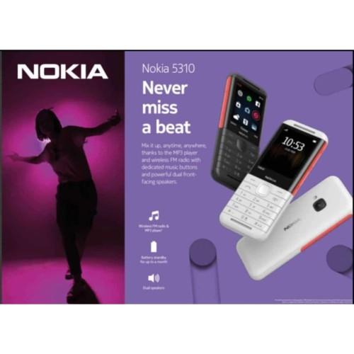 Foto Produk Nokia 5310 XpressMusic 2020 Garansi Resmi dari Antaboga Phone