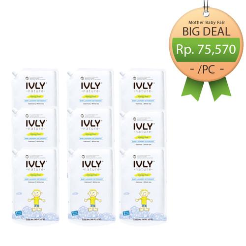 Foto Produk Set of 9PCS - Detergent / Softener 1200ML - Oatmeal | White Tea - Detergent dari Ivly Nature