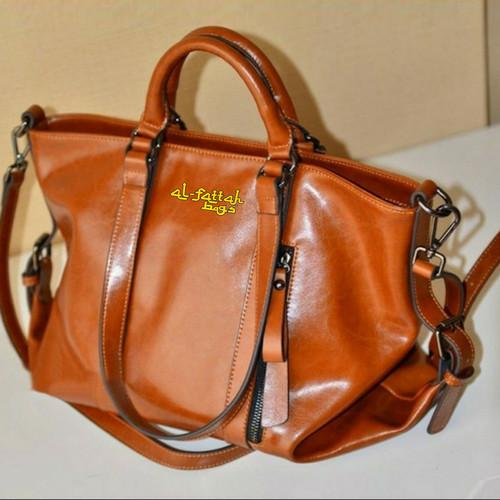 Foto Produk Tas wanita import tas fossil tas zara basic murah batam 063 black - Hitam dari Ar Razzaaq - TAS IMPORT