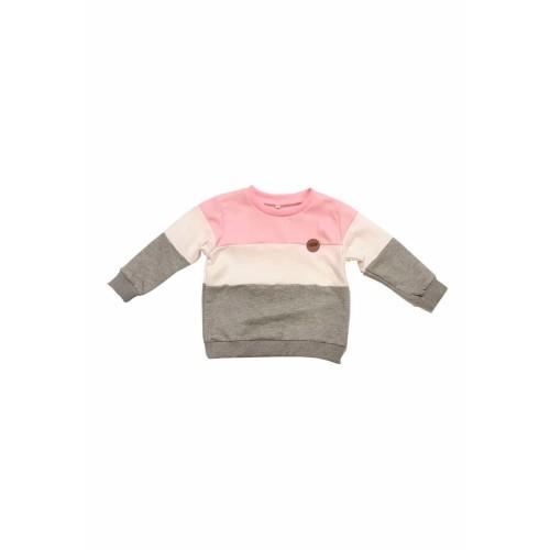 Foto Produk Mon Cheri Sweater Colorblock Pink Anak Perempuan - 1 year dari Mon Cheri ID