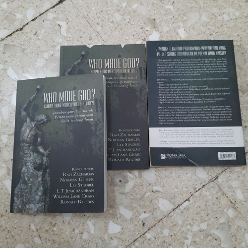Foto Produk Buku Murah - Who Made God dari CV Pionir Jaya