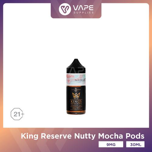 Foto Produk King Reserve Pods Friendly 30ml Nutty Mocha by Emkay Brewer dari Vape Supplies