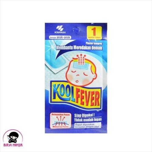 Foto Produk KOOLFEVER Plester Kompres Demam Untuk Anak isi 1 lbr dari BAYININJA