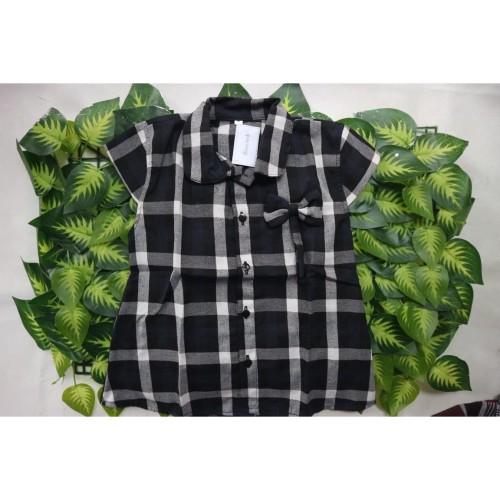 Foto Produk BEST SELLER Dress Tunik Anak Bahan Flanel Halus Import dari Konveksi Panda Kidswear