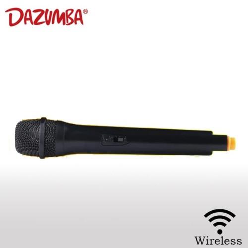 Foto Produk Mic/Microphone Karaoke Wireless untuk Speaker Dazumba dari Dazumba Official Store