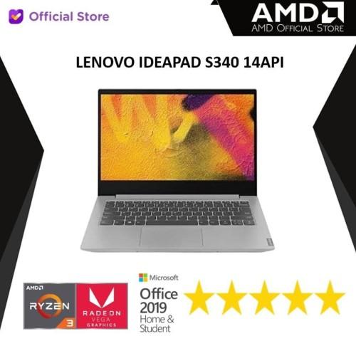 Foto Produk Lenovo IP S340 14API | Ryzen 3 3200U 8GB 512ssd Vega 3 W10 14FHD dari AMD Official Store