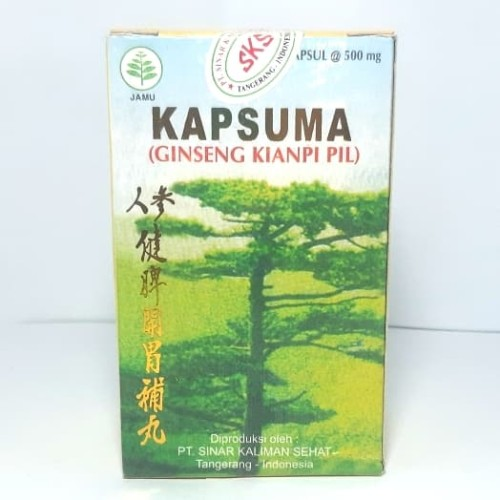 Foto Produk Kapsuma Ginseng Kianpi Pil Isi 60 Kapsul dari TRIONLINESHOP