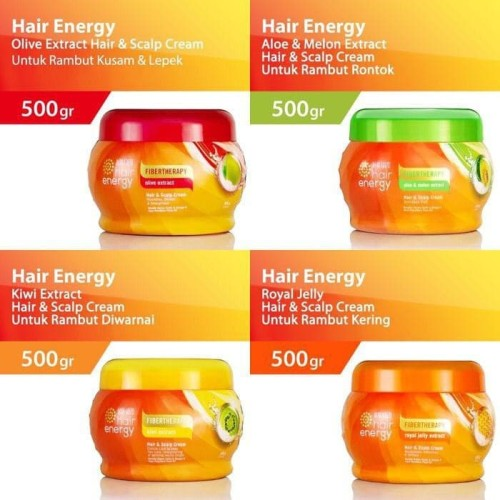 Jual 500gr Makarizo Hair Energy Fibertherapy Hair And Scalp Creambath Kiwi Kota Surabaya Basicones Tokopedia