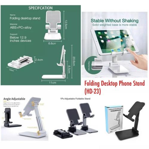 Foto Produk Stand Holder Hp Folding HD-23 / Dudukan Ponsel Adjustable Untuk Meja dari Aplaus Acc
