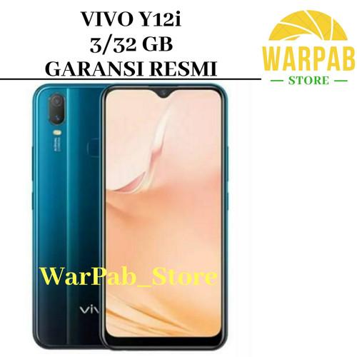 Foto Produk HP VIVO Y12i 3/32 GB - FIFO Y 12 i RAM 3GB ROM 32GB - VIVO Y12 i RESMI - Biru dari Warpab Store