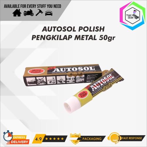 Foto Produk Autosol Metal Polish 50gr Pengkilap Logam dari PAINT COLOUR