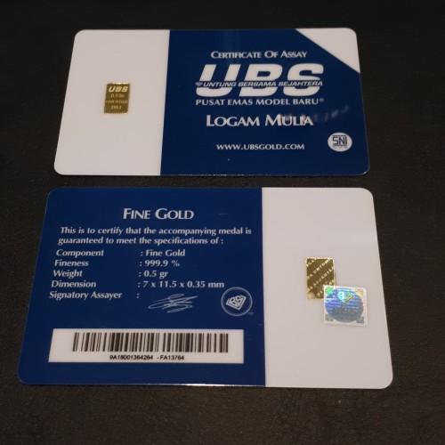 Foto Produk UBS 1/2 0,5 SETENGAH GRAM dari Twinboy Memorabilia