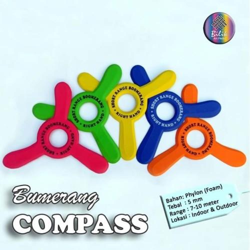 Foto Produk Mainan Anak Edukatif Sport Bumerang Boomerang Compass dari Bilik Art Media