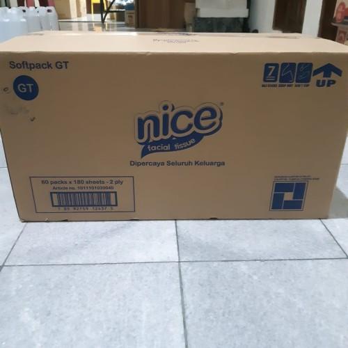 Foto Produk 1 Dus - Tissu Nice Facial 180s - Grab Gojek Only dari Packing Packing
