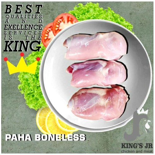 Foto Produk Fillet paha ayam / boneless paha ayam (fresh/frozen) - FROZEN dari kings jr